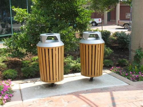 Litter Receptacles